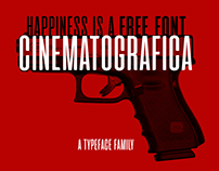 A movie inspired type family with one FREE FONT