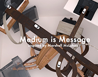 Visual language of Medium is Message