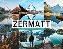 Free Zermatt Mobile & Desktop Lightroom Presets