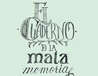 El cuaderno de la mala memoria - Dibujos