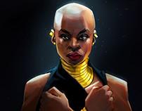 Black Panther Fan art