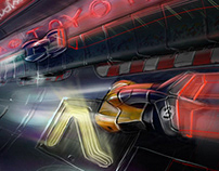 Race Tube game concept, later called Formula Force