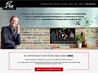 Personal Network Marketing Website