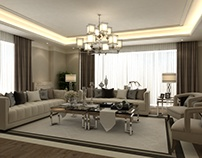 Luxury Livingroom & Entry Interior Design