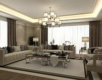 Luxury Livingroom & Entry Interior Design