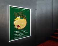 The Wizard of Oz: Theatre Production Poster