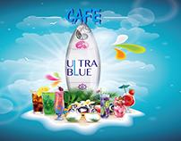 ultra blue Menu