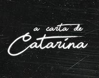 A carta de Catarina
