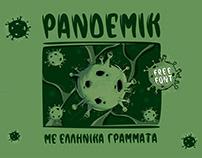PANDEMIK//FREE FONT
