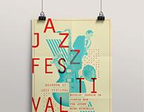 Poster Jazz Festival 2014.