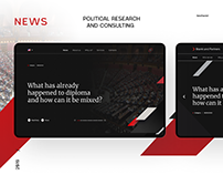 Political research and consulting. News . New