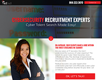 RedBud Information Security Landing Page Design