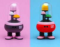 F:OKO 3D printed toy