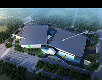 zhongshan lighting exhibition building