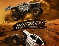 Monster Jam - Social Media Artwork