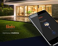 """Under control"" smart home app"