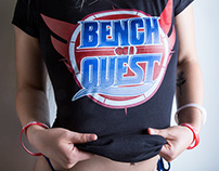 "Alternate ""Bench On A QUEST"" logo [2017]"