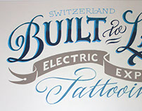 Built to Last - Lettering