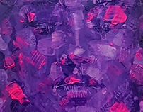 Abstractly Figurative/Figuratively Abstract face paintg