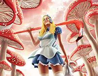 Alice in Wonderland//Killing time