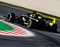 2019 Renault F1 Team Projects
