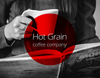"Company production of coffee ""Hot Grain"""