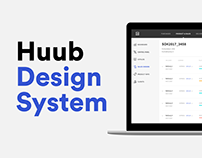 Design System for a logistic platform - Huub