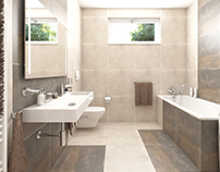 Green Village #standard bathroom nr.2