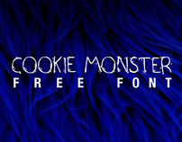 Cookie Monster FREE FONT