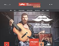 No Shave November Beard Care Store
