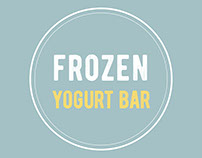Frozen yogurt bar