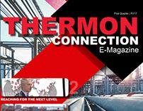 Magazine Design: Thermon Connection E-Magazine