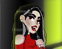 Tamara - Vampire for CD Challenge