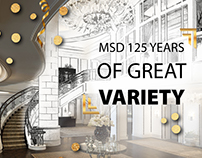MSD 125 years of great variety, prezentation PPT