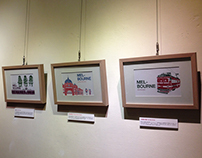 come together 一起旅行吧!little ship 插畫個展