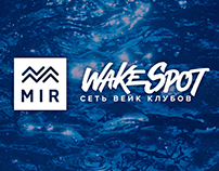 MIR WakeSpot branding