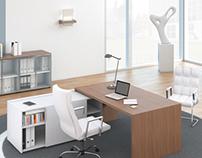 Office cg environments, packshots & films
