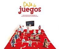 """Proyecto de ilustración """"Caja de Juegos"""""""