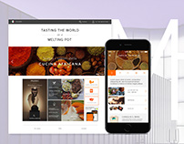 Tasting the world in a melting pot (Web/UI)