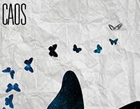LA TEORIA DEL CAOS (cartel de espectáculo)
