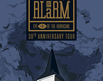 THE ALARM: EYE OF THE HURRICANE PRINTS