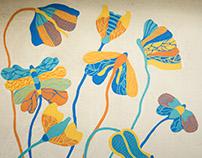 Mural: Cafe Cerrise, Ulsoor Lake