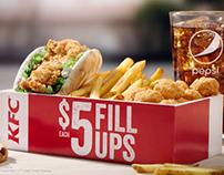 KFC Food Only Spots