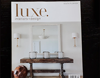 Ads @ LUXE interiors + design South Florida