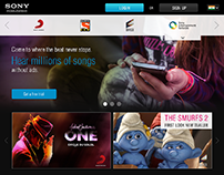 SONY INDIA UX - Group Website