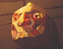 Cabeza clava | Ilustración