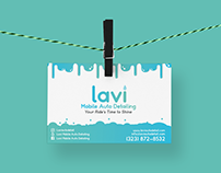 Branding - Lavi Mobile Auto Detailing