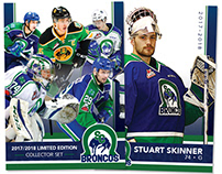 Limited Edition Broncos Hockey Cards 17/18