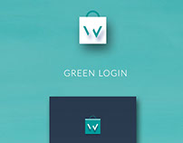 Green Login & Signup