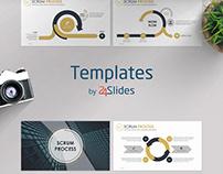 Scrum Process Presentation Template | Free Download